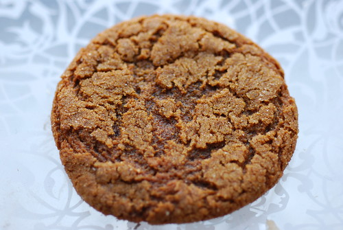 Sugar-Topped Molasses Spice Cookie