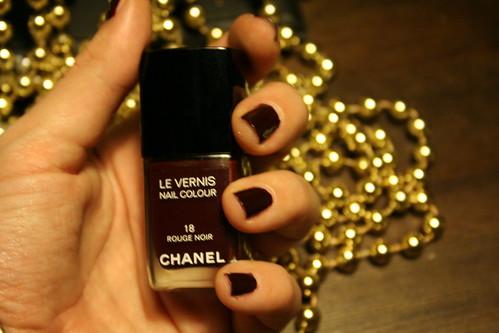 Noir Vernis Vernis Rouge Noir Chanel