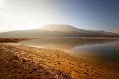 Cerknica lake (Karmen Smolnikar) Tags: sky lake reflection nature water karst kras cerknica fotocompetitionbronze intermittentlake yourwonderland