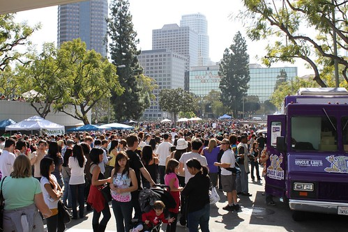 The LA food fest was mobbed last month
