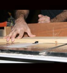 Cuttin' a Groove - 045/365 (JMaz Photo) Tags: wood shop saw handmade cut tools workshop woodworking powertools dado sawdust tablesaw project365