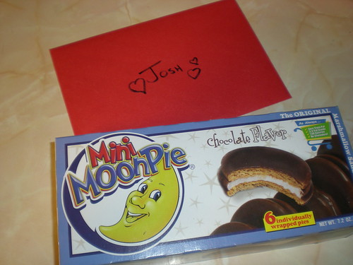Mini MoonPies & a card