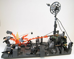 Operation Blackout (Titolian) Tags: dish lego contest battle blackout operation radar usdf urag