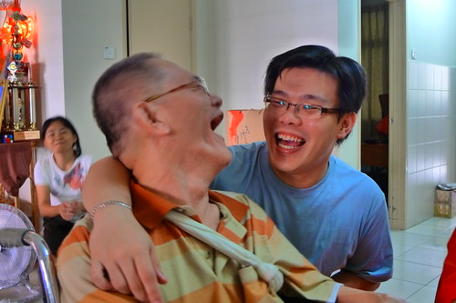 Cousin Chuan and uncle