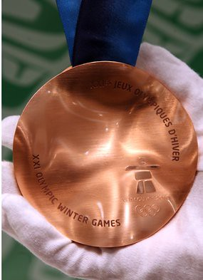 2010 Olympic Bronze medal