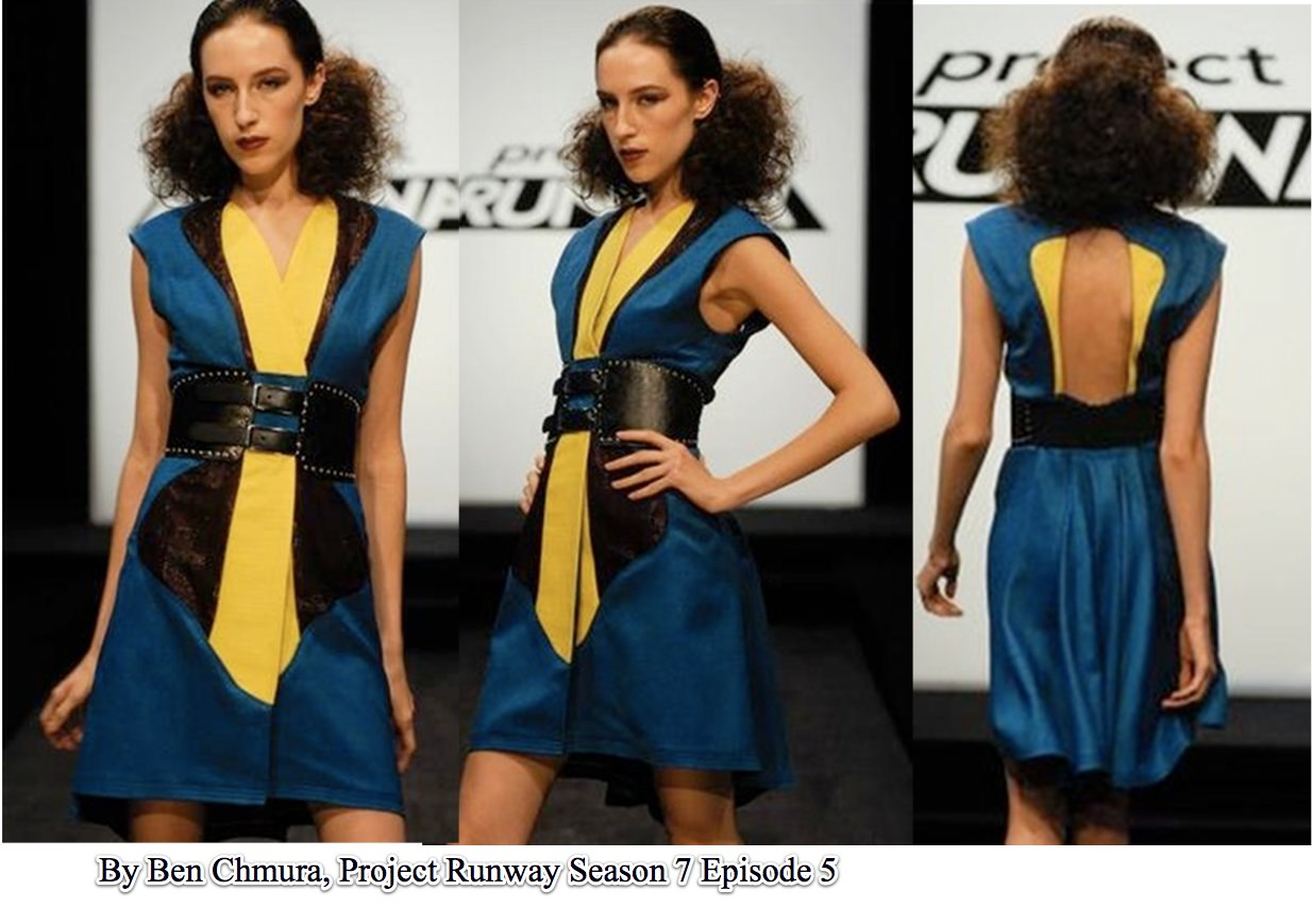 Ben Chmura Kimono, Project Runway S7E5