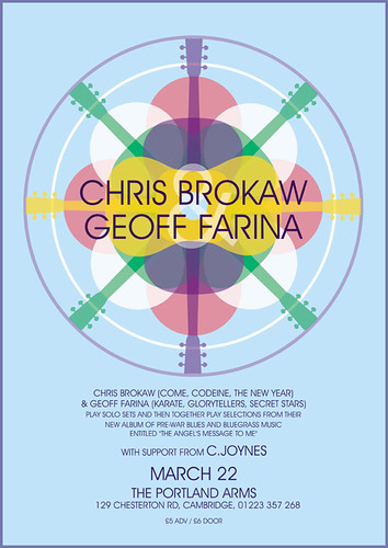CHRIS BROKAW & GEOFF FARINA