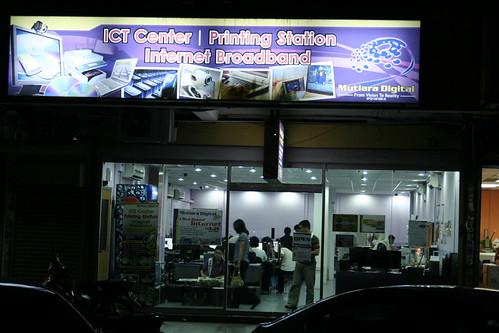 Mutiara Digital Printing Station