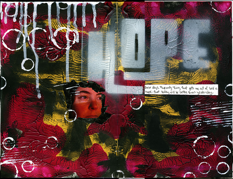 hope - art journal