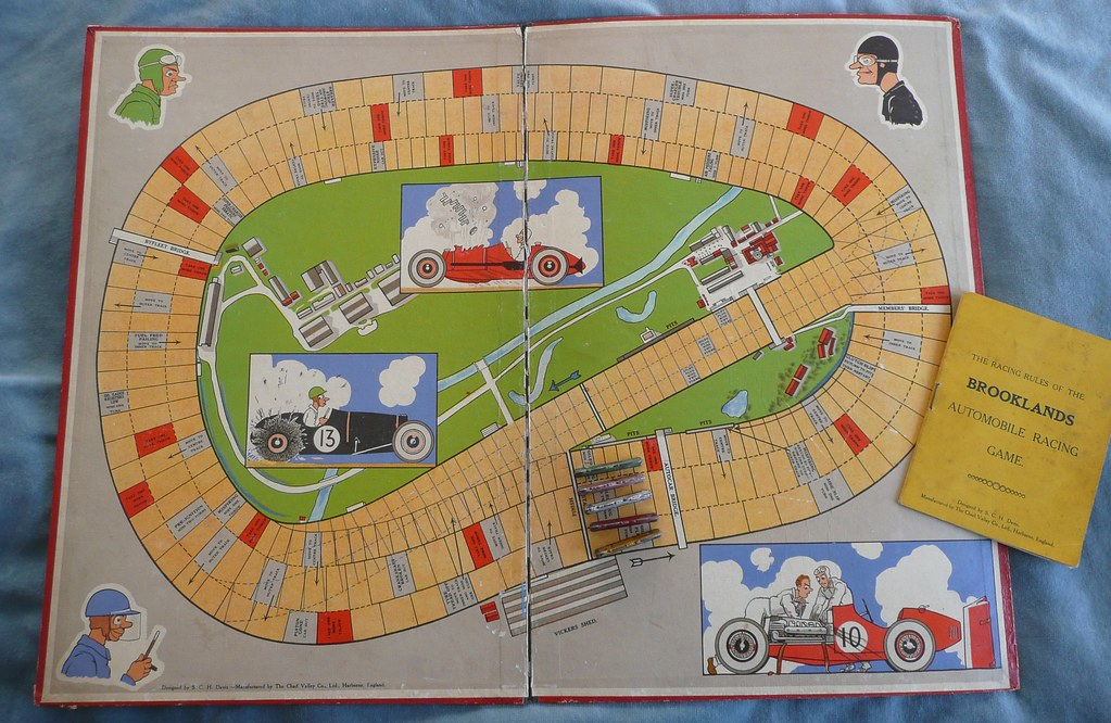 Brooklands Automobile Racing Game