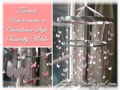 Front page (Tutorial- How to make a Chandelier Style Butterfly Mobile)
