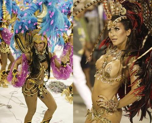リオのカーニバル 過激衣装 画像