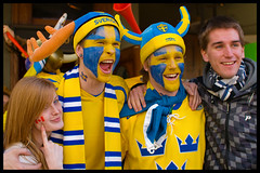 Swedish fans and their fans