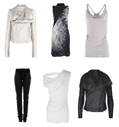 Rick Owens SS10 - Black and White