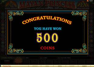 free Mayan Princess free spins