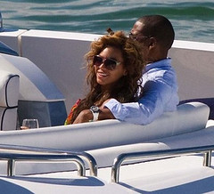 Jay-z and beyonce lamping in miami