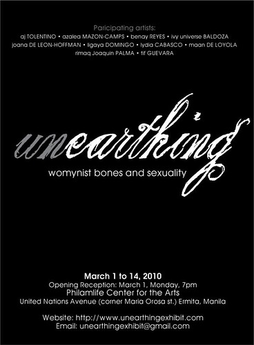 Unearthing Exhibit Poster
