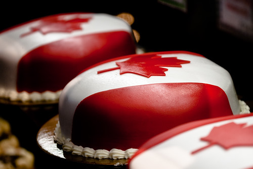 Maple Leaf Cakes
