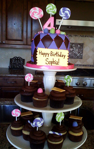 Sophia's Birthday Cake Customer Photo