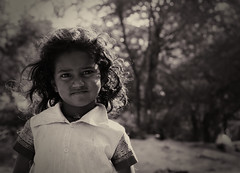 Beauty (VinothChandar) Tags: blackandwhite bw india cute monochrome beautiful beauty smile closeup rural canon children happy kid village child joy happiness explore delight laugh expressive cheer bliss chennai rejoice tamilnadu kanchipuram blessedness kancheepuram beatitude explored 40d