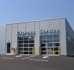 Nissan Service Building