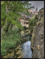 Ro Guadalaviar (pacodonderis) Tags: verde green water spain agua olympus teruel hdr albarracin algemesi e510 flickraward concordians alcoroches photoshopcreativo pacodonderis