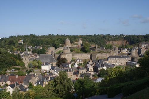 Fougères - Benedenstad