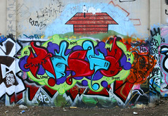 Maska (funkandjazz) Tags: california graffiti mask snoopy eastbay stm ase maska