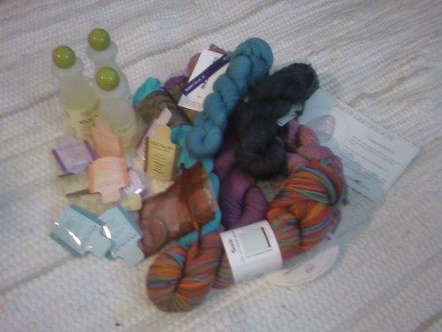Flocks of Yarn order is here!