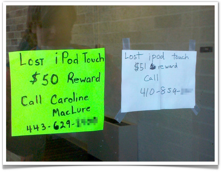 Lost iPod Sparks Bidding War