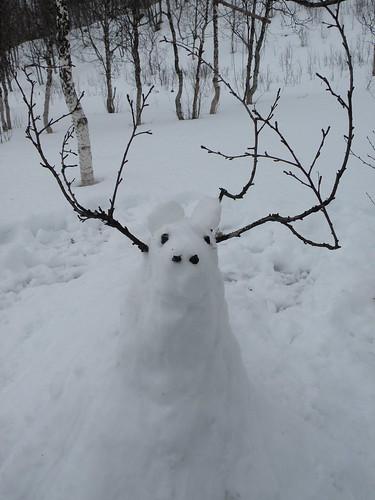 Snow fantasy snimal