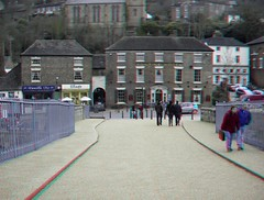 Ironbridge in anaglyph 3D (3dstereopics) Tags: road street uk bridge england people building public architecture fence river geotagged town stereoscopic stereophoto stereophotography 3d nikon iron arch fuji unitedkingdom framed gap entrance anaglyph ironbridge telford deck stereo finepix stereoview suburb footpath w1 redblue publicfootpath stereoscopy w3 anaglyphic 3dimensional redblueglasses anaglifo 3danaglyph ttw redcyan redcyanglasses real3d 3dphoto 3dpicture 3dphotograph anaglyph3d anaglyphic3d 3dstereoimage nikonl19 3dstereopicture