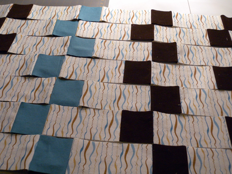 Quilt Strips - Closeup