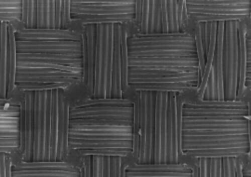 Taffeta textile structure