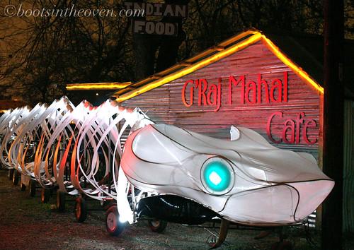 G'raj Mahal Snake Bike