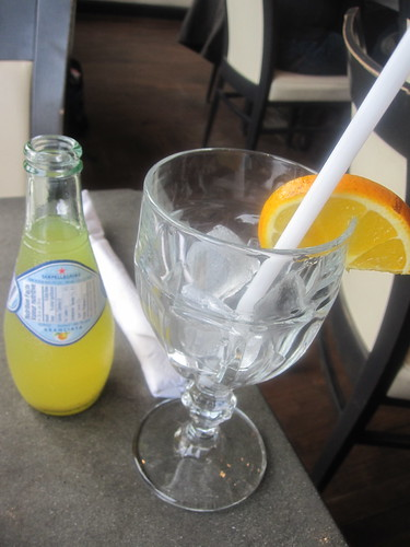 Orange San Pellegrino at Café Art Java