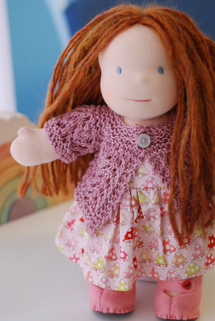 Ravelry February Doll Sweater Pattern By Pixiepurls
