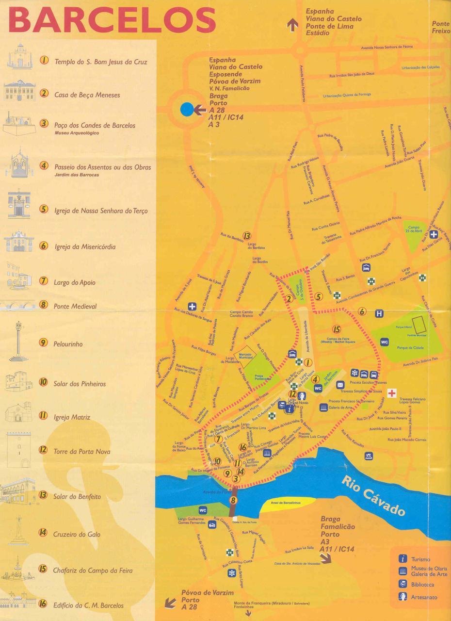 mapa barcelos