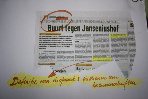 Bouwproject Janseniushof