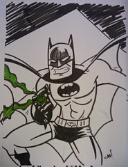 Mid-South Con 2010 : Batman with a Green Lantern ring