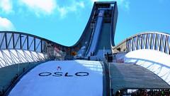 Oslo Holmenkollen Ski Jump preparing for OSL2011 #3