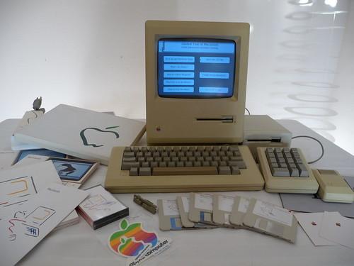 Mac 128K Setup