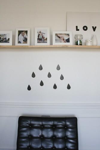 Its raining...