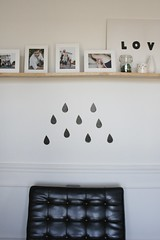 Its raining... (simplygrove) Tags: raindrops decal barcelonachair simplygrove