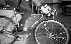 torpado (teh hack) Tags: street bw film bike analog speed canon lens tmax flash gear rangefinder nb iso single fixed 100 asa something strobe a35f