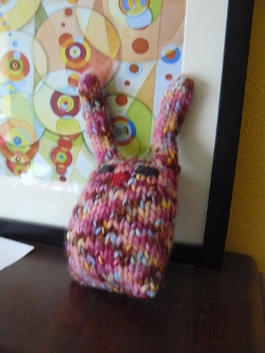 bunny at home by knitrn.