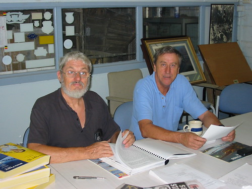 AHSNT Volunteers Ted Hurn and Mike Wright May 2003