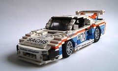 Le Mans Porsche 935 K3 (1) (Mad physicist) Tags: car lego porsche lemans lugnuts sachs 935