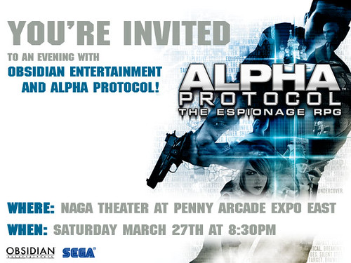 Alpha Protocol at PAX East