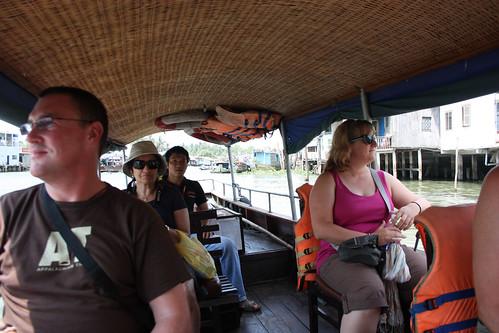 Rob, Hema, Cheung and Mel on the Mekong River Cruise